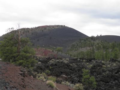 Sunset Crater nord for Flagstaff, Arizona